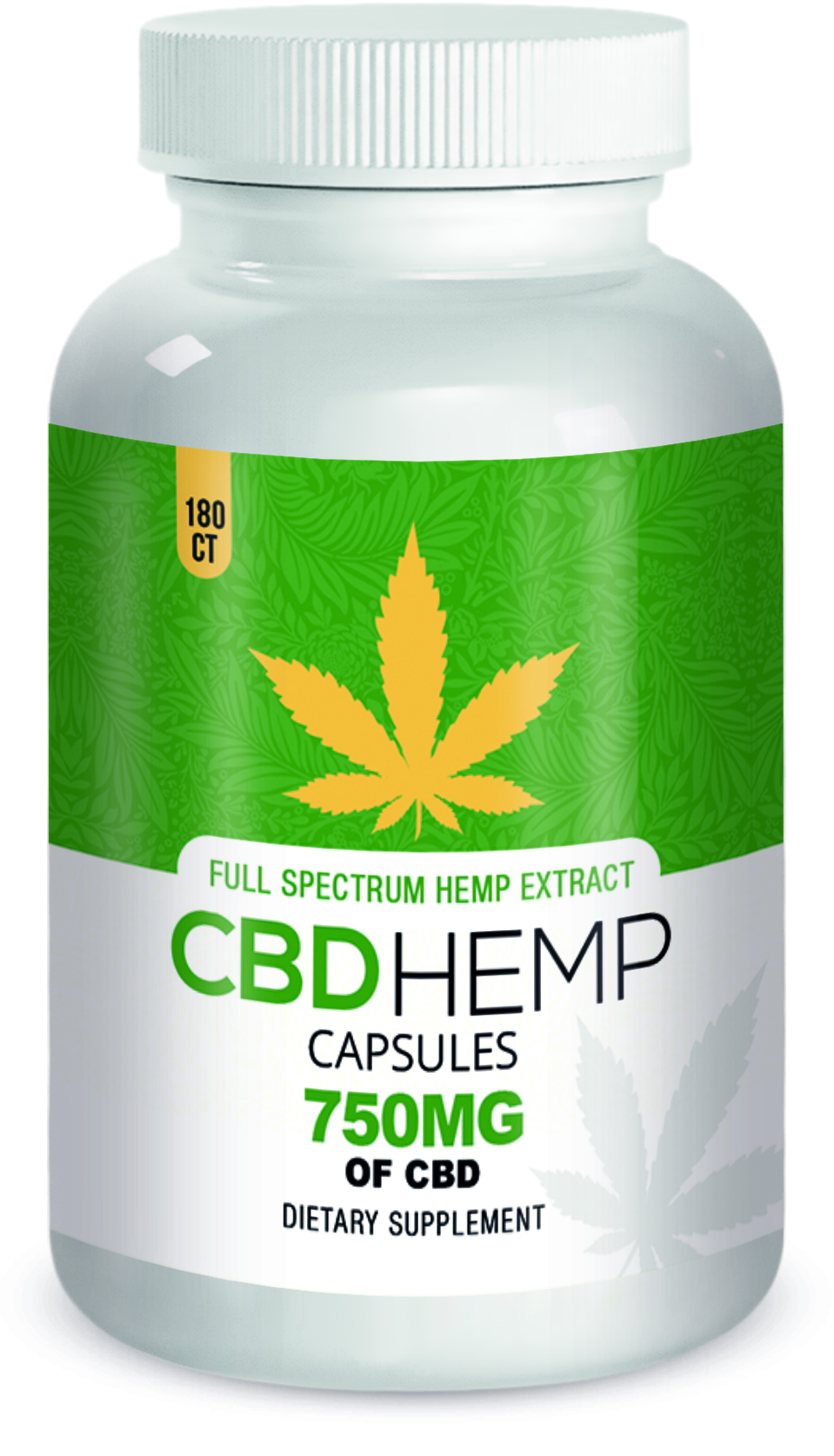 50mg CBD Hemp Capsules
